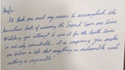 André Agassi escribe una emotiva carta a Rafa Nadal