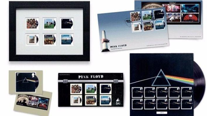 Pink Floyd pone a la venta una nueva edición lilmitada de sellos postales