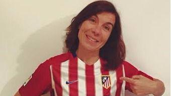 Pilar Carbonell va con el Atlético de Madrid