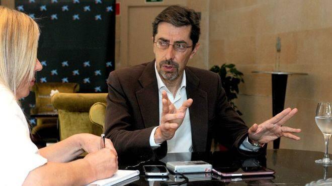 Fernando Navarro explica los principales ejes de la pol�tica de Ciutadans en Balears