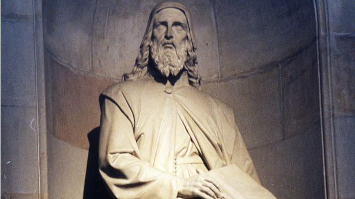 La basílica palmesana de San Francesc acoge la tumba del creador del catalán culto