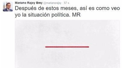 Rajoy lanza una nueva campaña para atraer la atención en Twitter