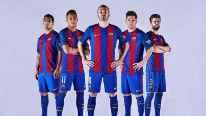 El Barça homenajea el 25º aniversario de Wembley en su nueva camiseta