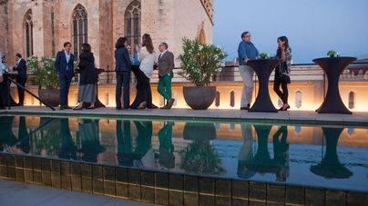 Fantástica acogida del Sushi Bar en la terraza del hotel Sant Franscesc