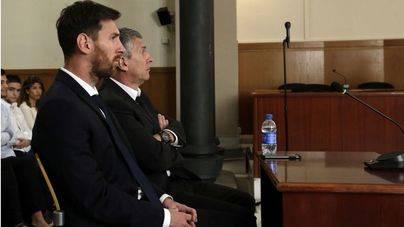 Messi alega que confiaba en su padre: