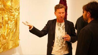 Jason Martin inaugura su segunda exposición en la sala Pelaires de Palma