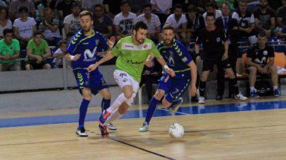 La suerte esquiva al Palma Futsal en los penaltis