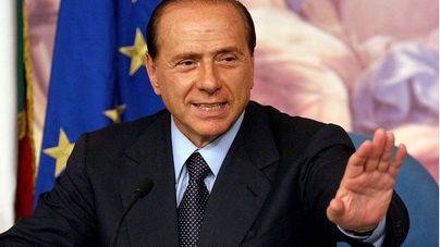 Ingresado en el hospital Silvio Berlusconi