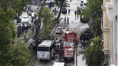 11 muertos en un atentado en Estambul