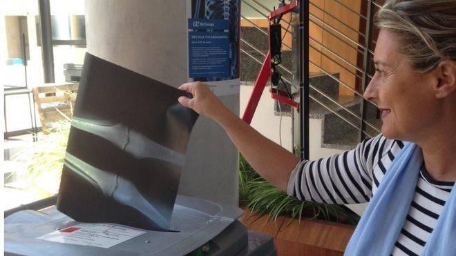 Air Europa lanza una campaña de recogida de radiografías inservibles