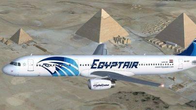 Uno de los aparatos de Egyptair