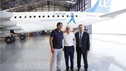 Air Europa lanza el avión con la imagen de Rafa Nadal Sports Centre