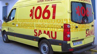 Ingresado grave un joven en Magaluf tras caer desde seis metros en un hotel