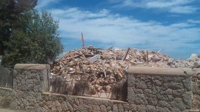 Reducida a escombros la casa donde residió Manuel de Falla