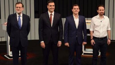 Sánchez centra el debate a cuatro en atacar a Rajoy