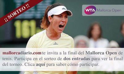 mallorcadiario.com sortea dos entradas para la final del Mallorca Open