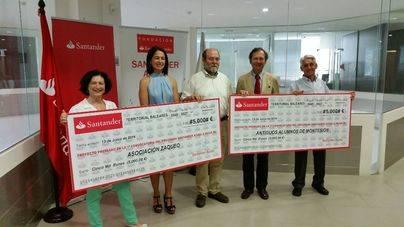 Dos iniciativas sociales de Balears, elegidas por Santander Ayuda