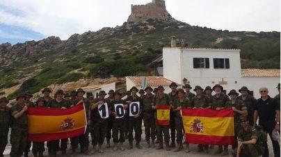 100 años de presencia militar en Cabrera