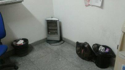 CCOO denuncia inmundicia y ratas en los vestuarios de los vigilantes de la Estación Intermodal