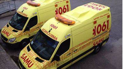 4 heridos en un accidente entre un coche y una furgoneta