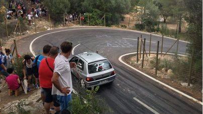 Cuatro heridos graves en un accidente en un rally en Mallorca