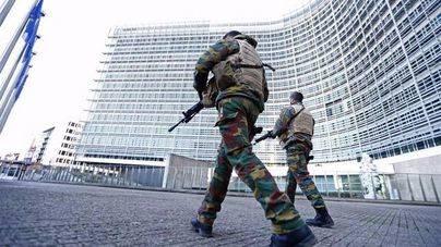 Efectivos policiales belgas