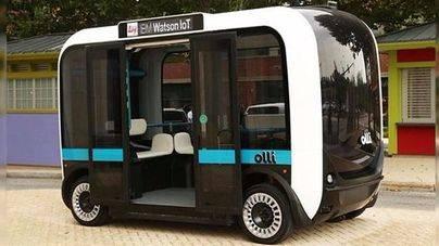 Olli, el autobús autónomo impreso en 3D, llega a las calles de Washigton DC