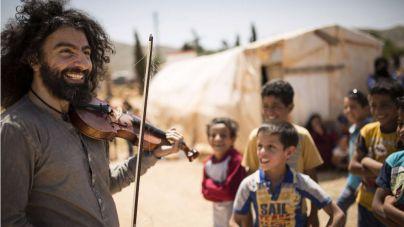 Ara Malikian lanza '15 con los refugiados'