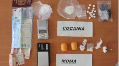Drogas, dinero y efectos incautados