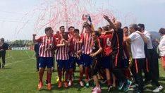 El Atlético de Madrid juvenil se hace con la Copa del Rey en Son Bibiloni