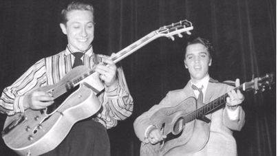 Muere Scotty Moore, guitarrista de Elvis Presley