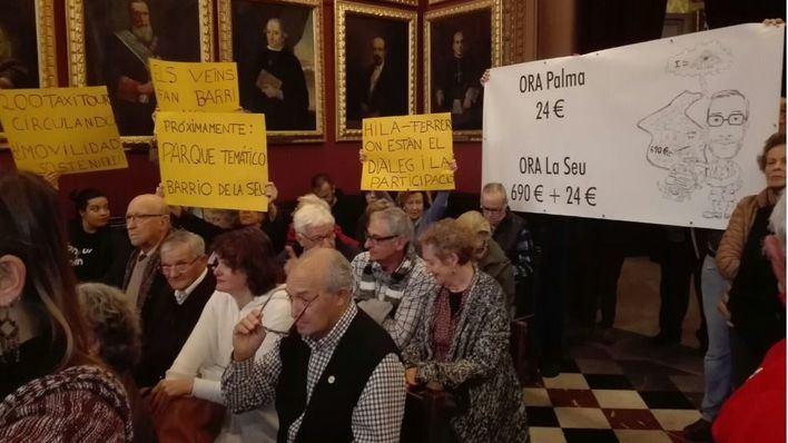 Imagen de archivo de una participación ciudadana en el Pleno