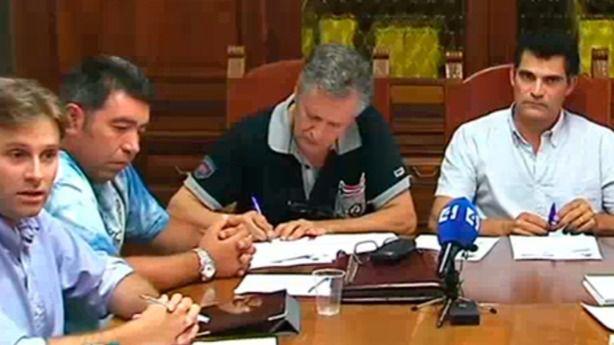 Antoni Mulet incidió en sus esfuerzos por intentar  llegar a acuerdos