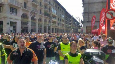 2.500 motoristas rinden homenaje a Luis Salom