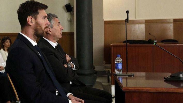 Leo Messi y su padre, condenados a 21 meses de prisión por fraude fiscal