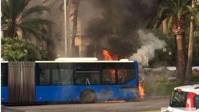 Cort revisará toda la flota de la EMT tras los incendios en los buses