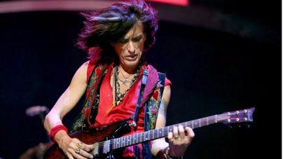 Hospitalizado el guitarrista de Aerosmith tras un desmayo