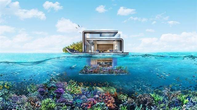 La primera casa bajo el mar se construye en dubai for Hoteles mas lujosos del mundo bajo el mar