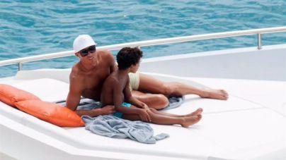 Ronaldo muestra su lado más cariñoso con su hijo