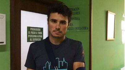 Gómez Noya se fractura un brazo y no irá a los Juegos