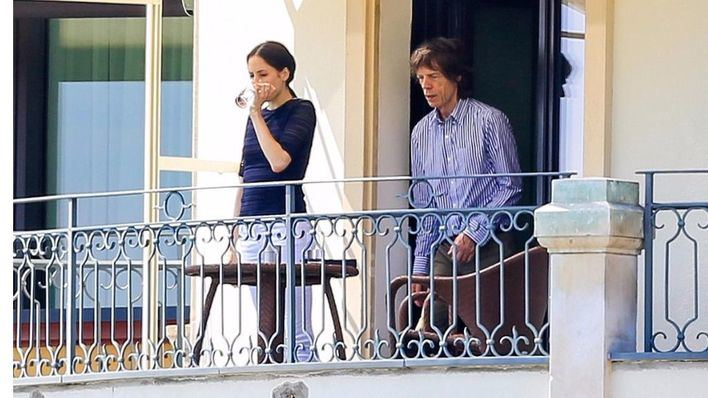 Mick Jagger será padre por octava vez