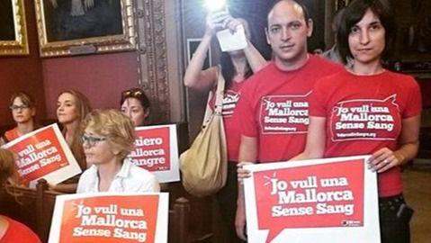 """Los antitaurinos: """"No sabemos si nos podemos fiar del PSIB"""""""