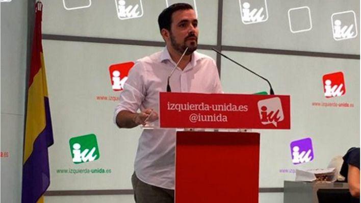 Alberto Garzón, ratificado como nuevo coordinador federal de IU
