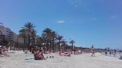 El termómetro se disparará hasta los 36 ºc esta semana en Mallorca