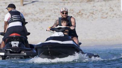 Messi disfruta en Eivissa