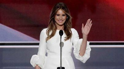 Melania Trump, acusada de plagiar el discurso de Michelle Obama en 2008