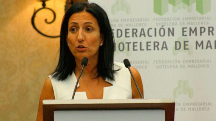 Inma de Benito, presidenta de la Federación Hotelera de Mallorca