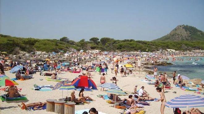 La ola de calor abrasa Mallorca