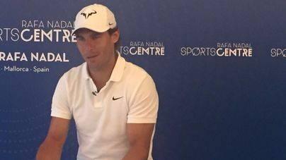 Rafa Nadal inaugura el 'Sport Xperience' para conocer el deporte con simuladores