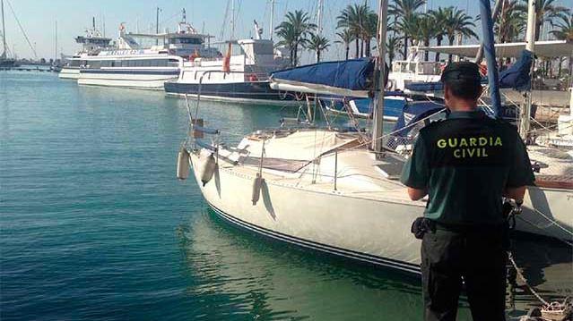 La Guardia Civil detiene a un alemán por robar un velero del Port de Palma